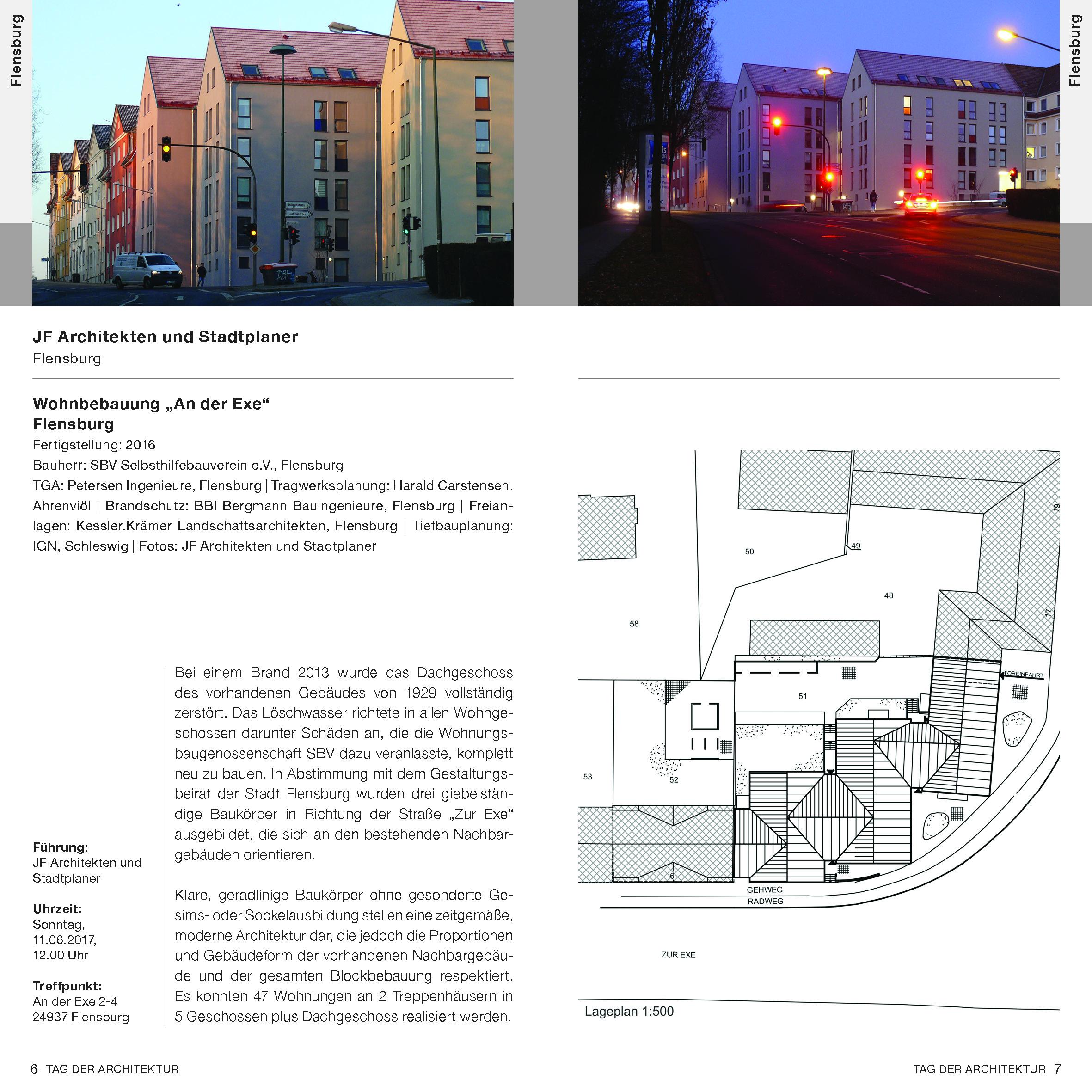 Archiv der jahre 2005 2017 architekten und ingenieurkammer schleswig holstein - Architektur flensburg ...